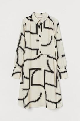 H&M Shirt Dress - Beige