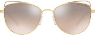 Michael Kors Mirrored Cat Eye Sunglasses