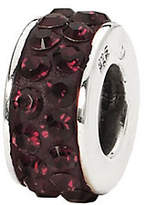 Swarovski Prerogatives Dark Maroon Double Row Crystal Bead