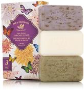 Pre de Provence Quad-Milled Soap 3-piece Butterfly Gift Set