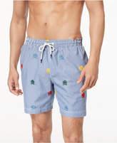 Tommy Hilfiger Men's Novelty Flag Swim Trunks