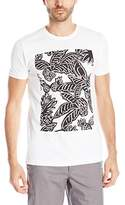 French Connection Men's Parrot Palms Short Sleeve T-Shirt