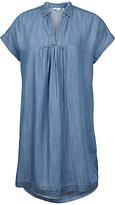 Fat Face Molly Chambray Dress, Blue