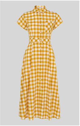 Whistles Ilana Check Shirt Dress