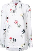Equipment floral longsleeve shirt - women - Silk - XS
