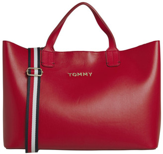 Tommy Hilfiger AW0AW08512XAF Iconic Tommy Double Handle Satchel