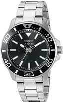 Invicta Men's 'Pro Diver' Quartz Stainless Steel Watch, Color:Silver-Toned (Model: 21542)