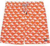 Tom & Teddy Dolphin Print Classic Fit Swim Short