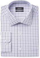 Alfani Men's Classic-Fit Performance Grape Hairline Check Dress Shirt, Only at Macy's