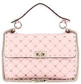 Valentino Rockstud Spike Medium Quilted Leather Handbag