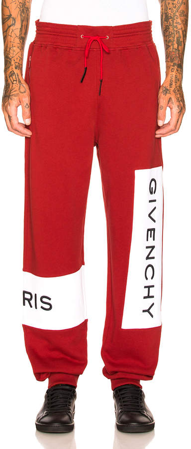 Givenchy Logo Sweatpants