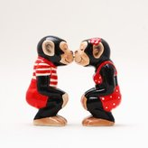 Attractives Chimps Ceramic Magnetic Salt and Pepper Shakers Collection Set