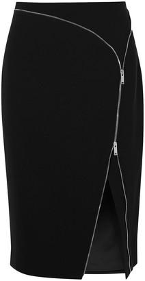Altuzarra Peck Zip-detailed Cady Midi Skirt