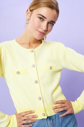 Coast Jewel Button Stitchy Cardigan