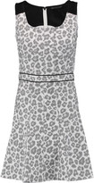 Marc by Marc Jacobs Heather Cotton-Blend Jacquard Mini Dress