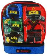 "Lego Ninjago 9"" Dual Compartment Lunch Bag"