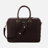 Aspinal of London Small Mount Street Bag Brown