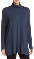 Eileen Fisher High Low Turtleneck Tunic