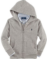 Ralph Lauren Boys 2-7 Long Sleeve Fleece Hoodie