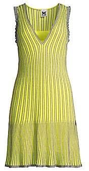 M Missoni Women's Metallic Striped Knit Dress