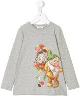 MonnaLisa dwarf print sweatshirt