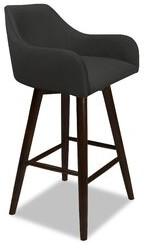 "Bronx Vicky Swivel Bar & Counter Stool Ivy Upholstery: Pewter, Seat Height: Counter Stool (26"" Seat Height)"