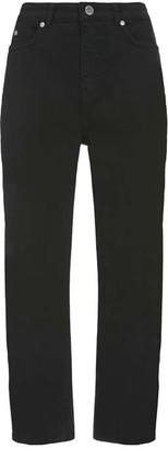 Mint Velvet Dallas Black Tapered Jeans