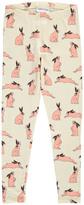 Mini Rodini Pink Bunnies Leggings