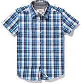 Original Penguin Youth Plaid Button Down Shirt