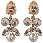 Sorrelli Crystal Lotus Flower Statement Earrings