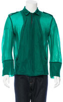 Ann Demeulemeester Nylon Zip-Up Jacket w/ Tags