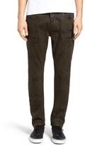 Hudson Men's Broderick Coated Skinny Fit Jeans