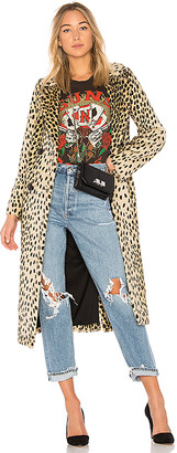 House Of Harlow x REVOLVE Perry Faux Fur Coat