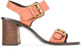 See by Chloe buckled sandals - women - Leather/rubber - 38