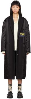 MM6 MAISON MARGIELA Black Inside-Out Coat