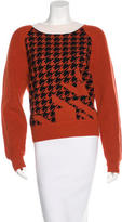 3.1 Phillip Lim Houndstooth Wool Sweater