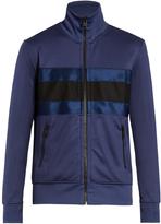 Ami Zip-through striped jacket