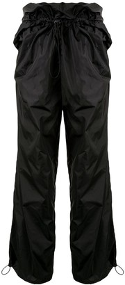 Y/Project High Rise Ruched Trousers