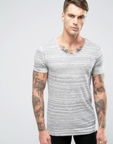 Scotch & Soda Scotch and Soda Panel T-Shirt