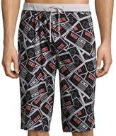 Nintendo Controller Knit Pajama Shorts