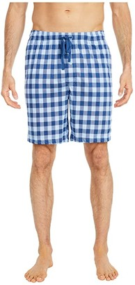 Nautica Sleep Printed Shorts (Noon Blue) Men's Pajama