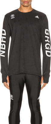 adidas Neighborhood Neighborhood Compression Tee in Black | FWRD
