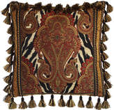 """Sweet Dreams Exotica Pillow with Paisley Center, 18""""Sq."""
