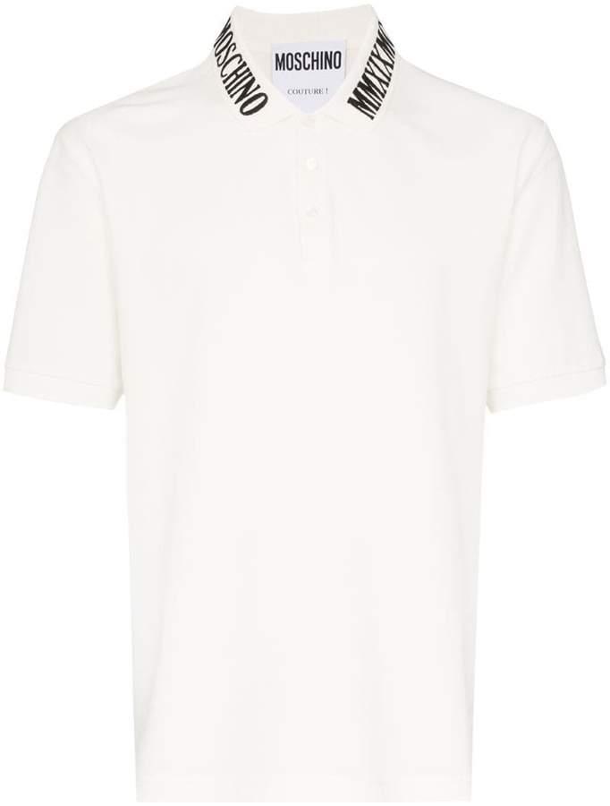 c7f90058e259 Moschino White Men's Shortsleeve Shirts - ShopStyle