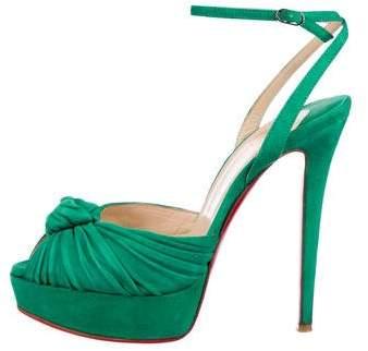 Christian Louboutin Greissimo Platform Sandals