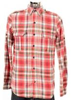 Denham Jeans Grain Shirt Red