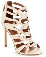 BCBGMAXAZRIA Vicenza Leather Open Toe Sandals