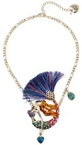 Betsey Johnson Mermaid Pendant Necklace Necklace