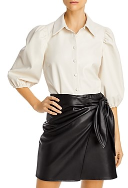 Lucy Paris Puff-Sleeve Top - 100% Exclusive