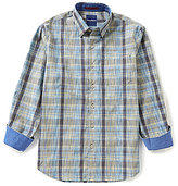 Tommy Bahama Long-Sleeve Robert Janiero Plaid Woven Shirt